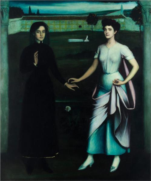 Amor sagrado, amor profano, 1908 - Julio Romero de Torres