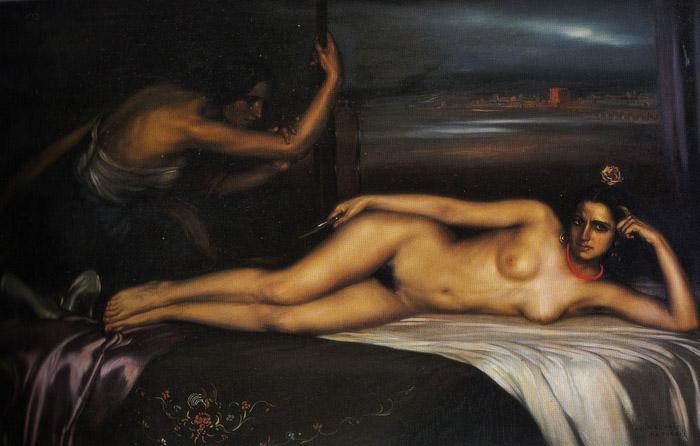 La nieta de Trini, 1929 - Julio Romero de Torres