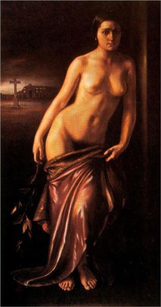 Ofrenda al arte del toreo, 1929 - Хулио Ромеро де Торрес