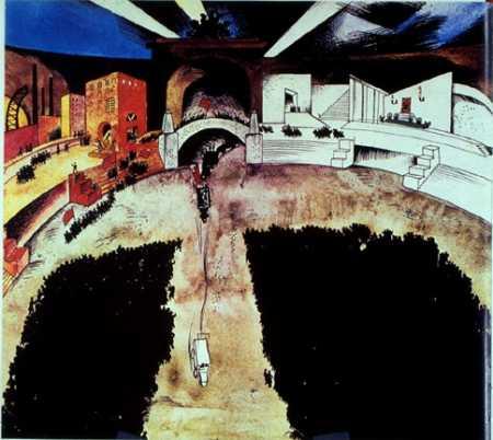 Storming the Winter Palace, 1920 - Jury Annenkov