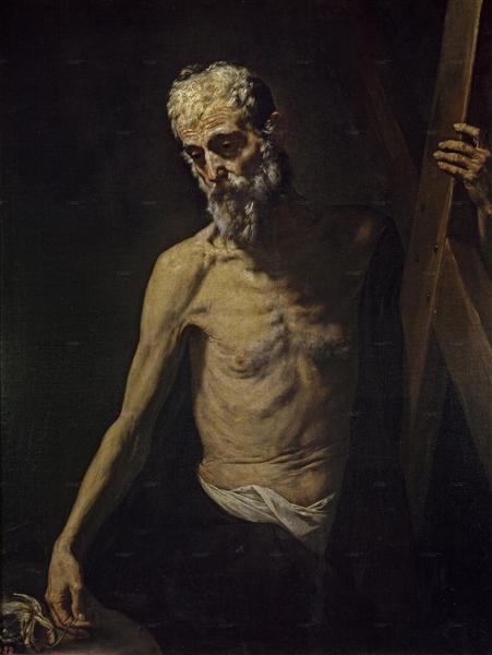 St. Andrew, c.1631 - Jusepe de Ribera