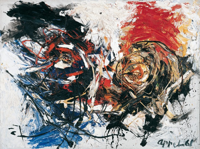 Face in a Landscape, 1961 - Karel Appel