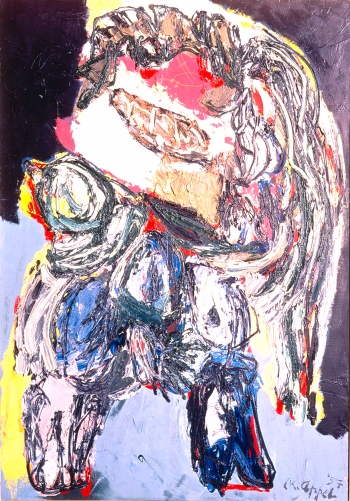 Young Girl, 1957 - Karel Appel