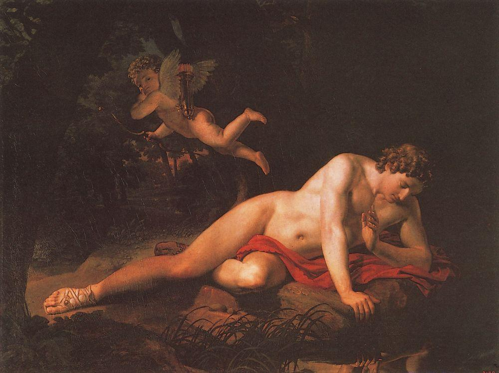 The Narcissus, 1819