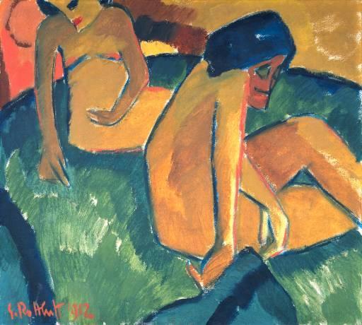 Two Women, 1912 - Karl Schmidt-Rottluff