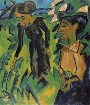 Two Women, 1914 - Karl Schmidt-Rottluff