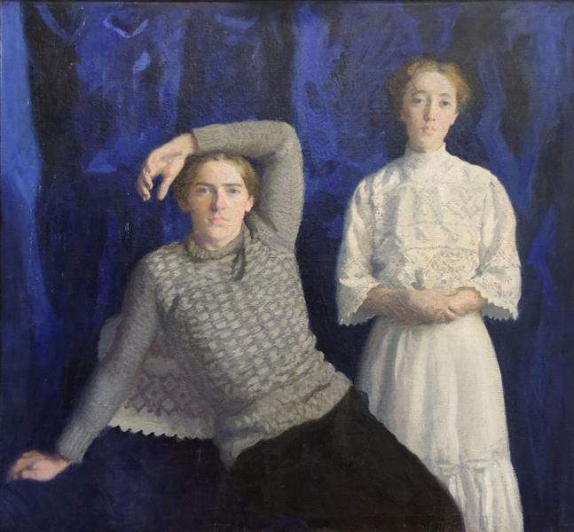 Béni and Noémi, 1908 - Karoly Ferenczy