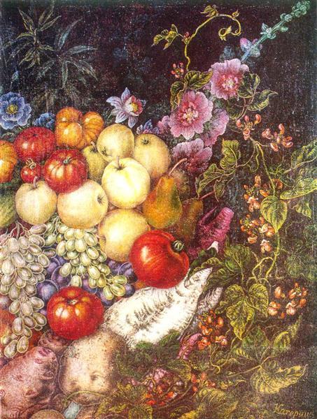 Hello harvest, 1946 - Kateryna Bilokur