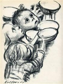 Germany's children starve! - Kathe Kollwitz