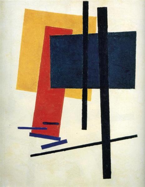 Suprematism, 1915 - 馬列維奇