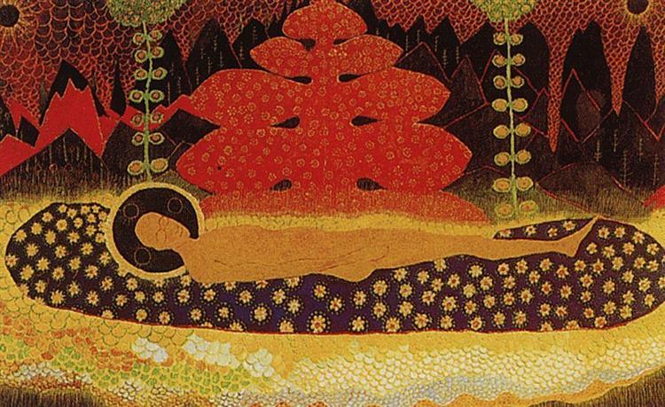 Veil, 1908 - Kazimir Malevich