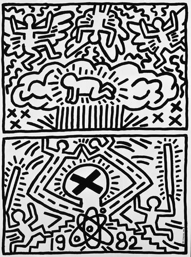Anti-Nuclear Rally, 1982 - Keith Haring