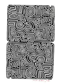 Labirinto - Keith Haring