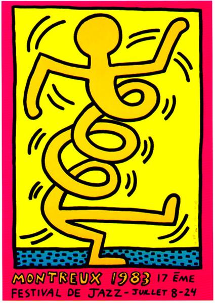Montreux, 1983 - Keith Haring