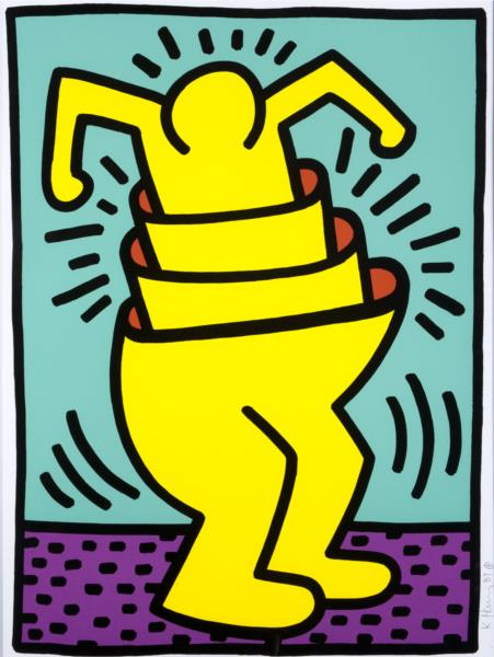Untitled, 1989 - Keith Haring