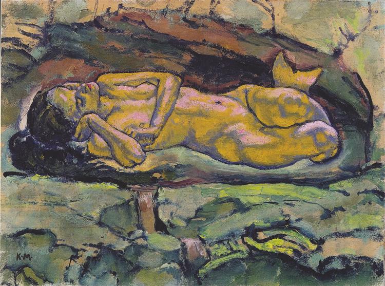 Mermaid, 1914 - Koloman Moser