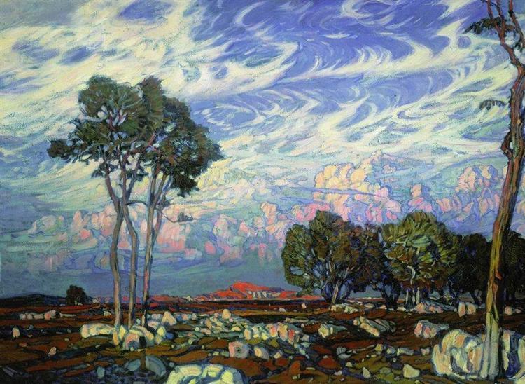 Последние лучи, 1903 - Константин Богаевский