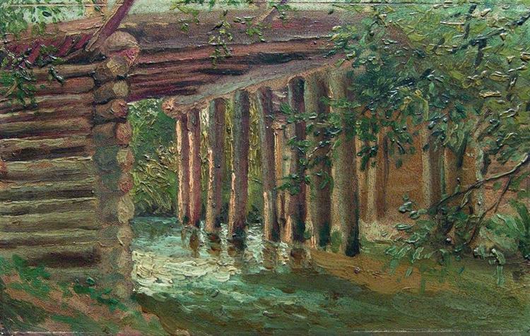 Bridge, c.1880 - Konstantin Makovsky
