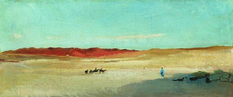 Desert - Konstantin Makovsky