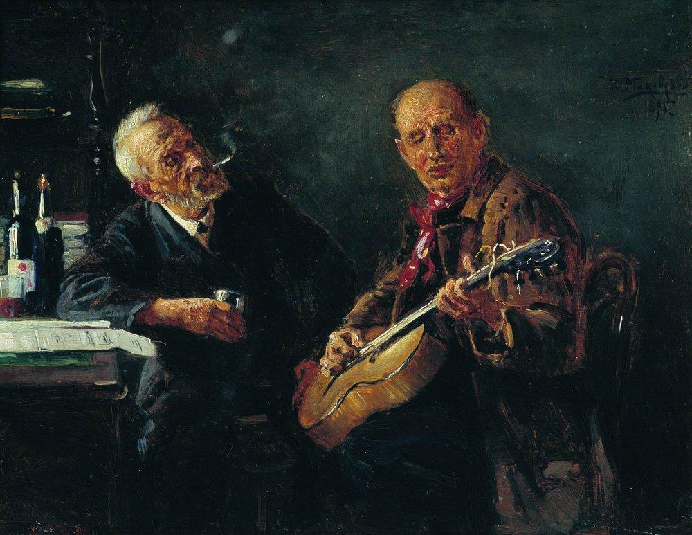 Konstantin Makovsky Friends