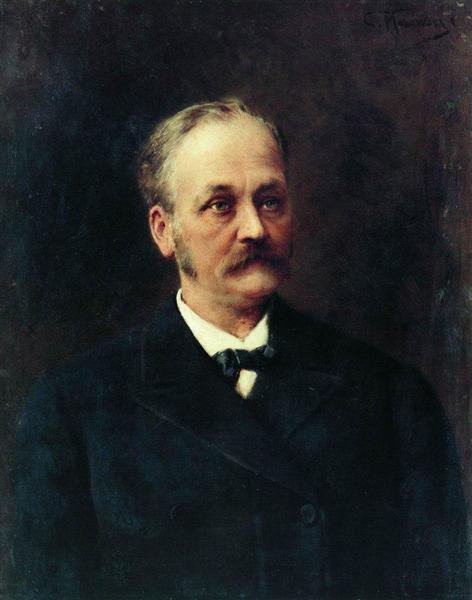 Male Portrait, c.1860 - c.1870 - Konstantin Makovsky