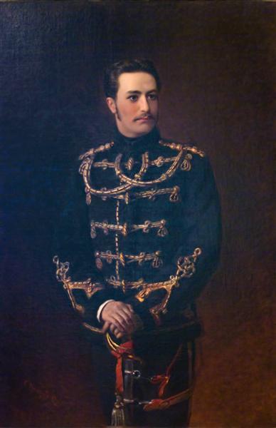 Portrait of the Count G.Bobrinsky - Konstantin Makovsky