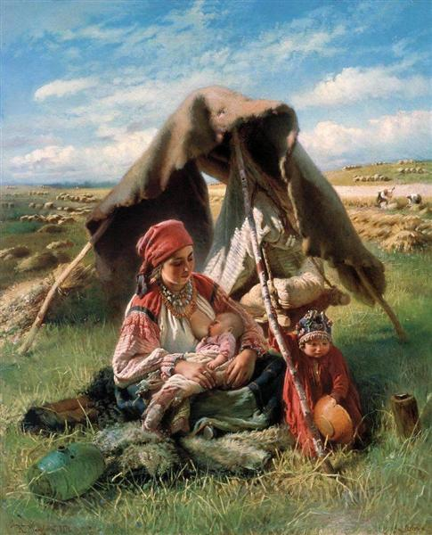 Reaper, 1871 - Konstantin Makovsky
