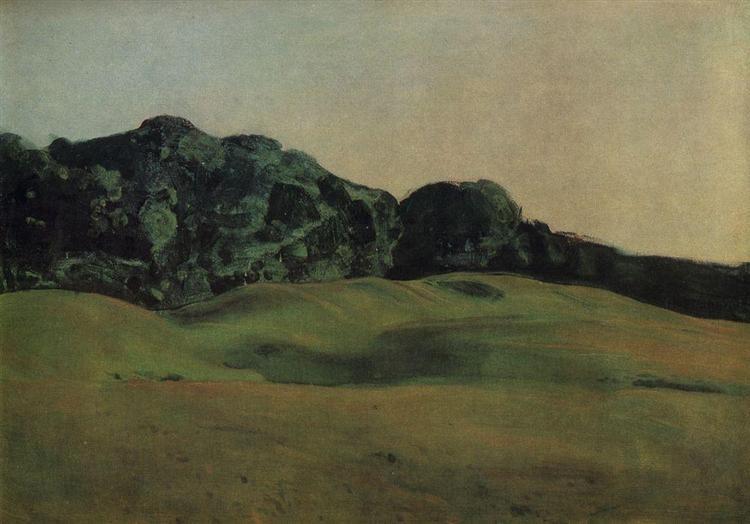 Before Sunset, 1900 - Konstantin Somov