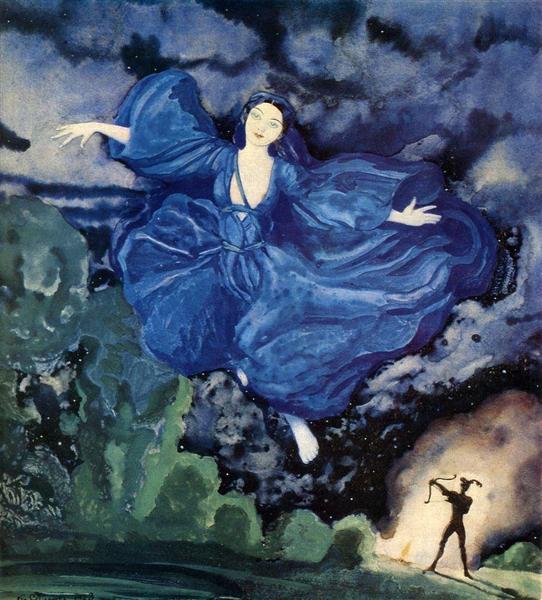 Blue Bird, 1918 - Konstantín Sómov