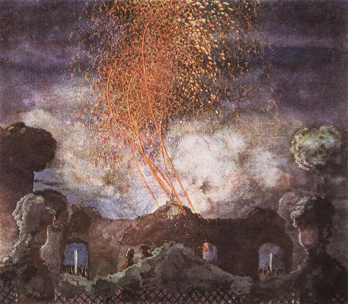 Fireworks, 1904 - Konstantin Somov