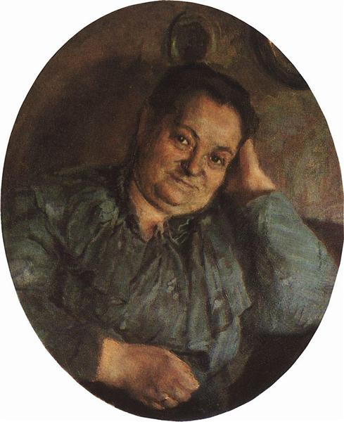 Portrait of the Artist's Mother, 1895 - Konstantin Somov