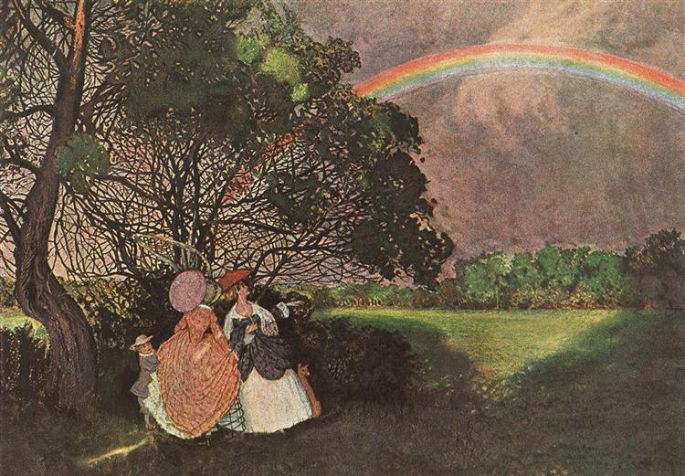 Rainbow, 1897 - Konstantin Somov