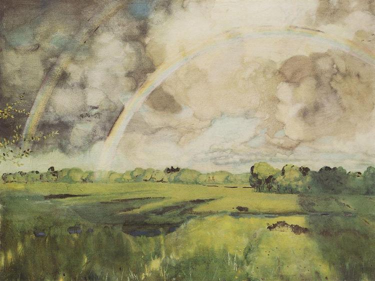 Rainbow 2, 1908 - Konstantin Somov