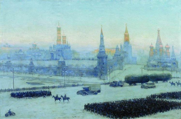 Moscow Morning, 1942 - Konstantin Yuon