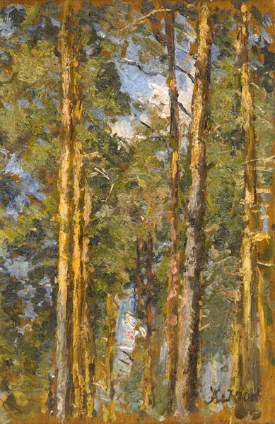 Pine Trees - Konstantin Yuon
