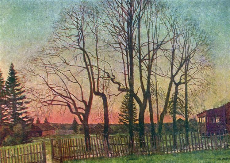 The Beginning of Spring, 1935 - Konstantin Yuon