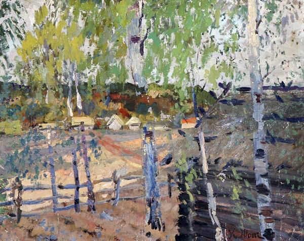 The Countryside View - Konstantin Yuon