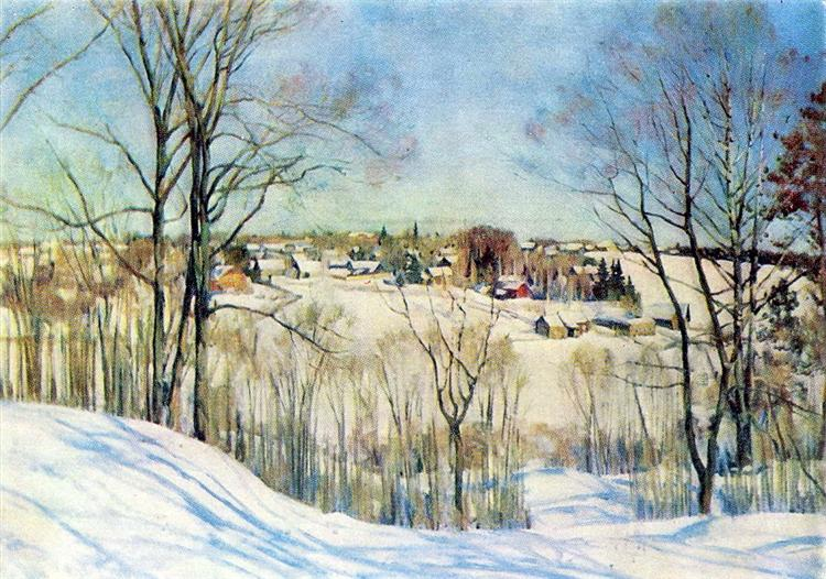 The Winter Day, 1910 - Konstantin Yuon
