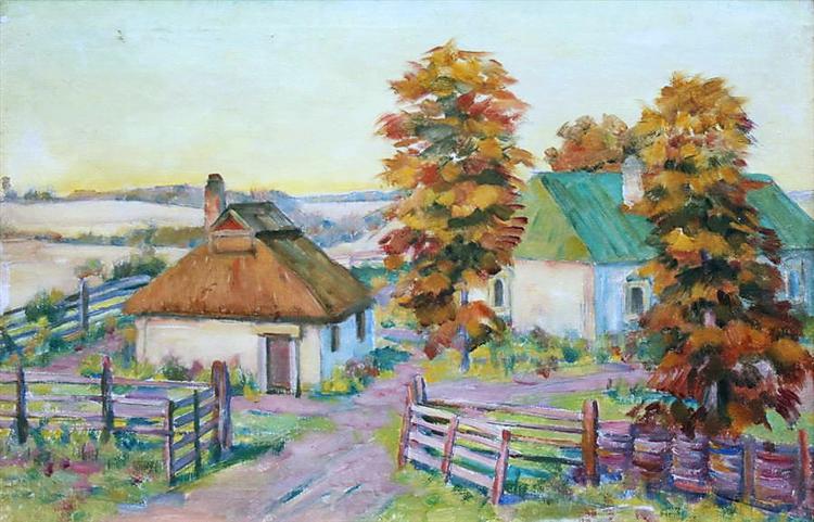 Ukrainian Landscape - Konstantin Yuon