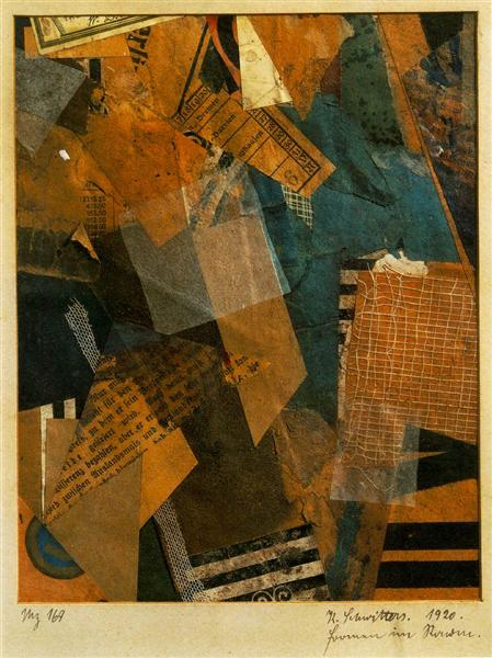 Forms in Space, 1920 - Kurt Schwitters