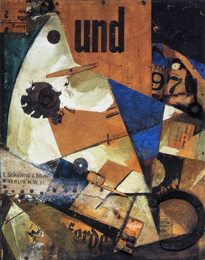 the and picture 1919 kurt schwitters. Black Bedroom Furniture Sets. Home Design Ideas