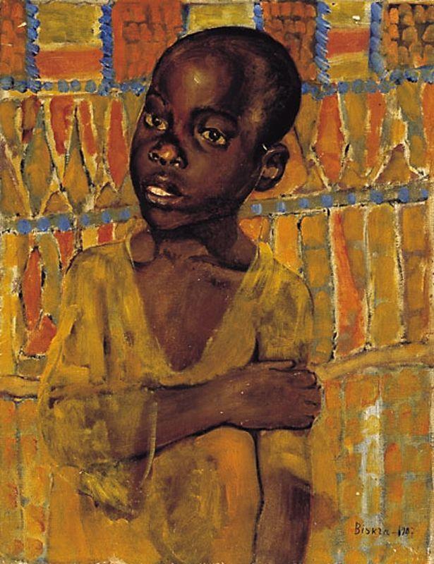 "Картинки по запросу Petrov-Vodkin ""Portrait of an African boy"
