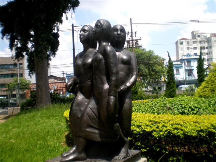 Three Young Girls, 1939 - Lasar Segall