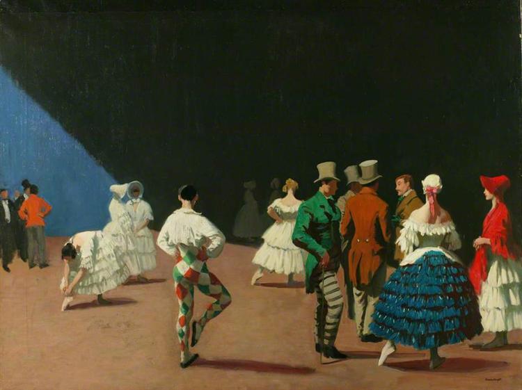 Carnaval, 1920 - Laura Knight