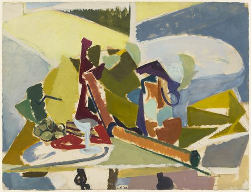 Still Life, 1938 - Lee Krasner