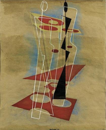 Composition, 1937 - Leo Leuppi