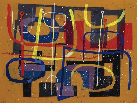 Composition, 1956 - Leo Leuppi