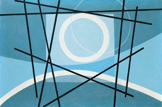 Komposition, 1960 - Leo Leuppi