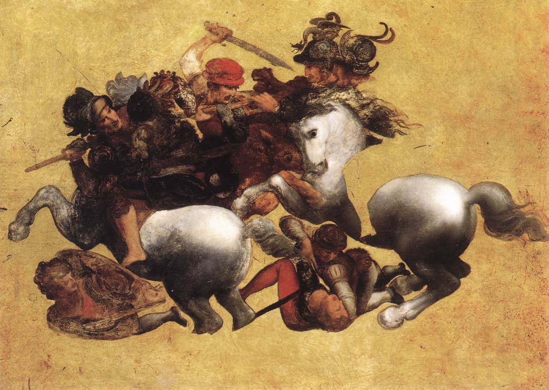 Battle of Anghiari, 1504