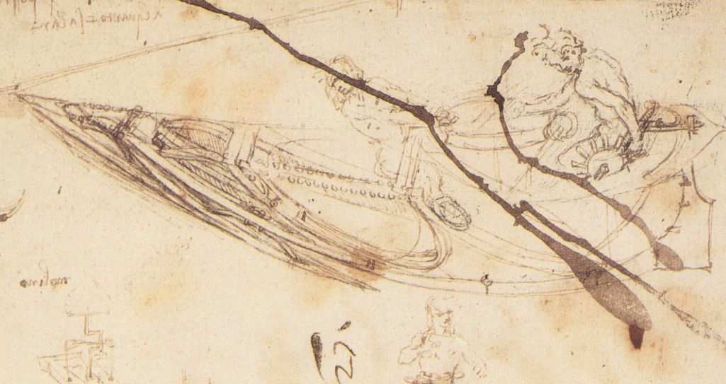 Designs for a Boat, 1485